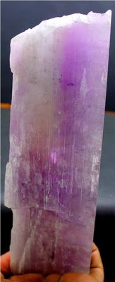 Damage Free Pink Color Natural Kunzite Crystal -  195 x 65 x 24 mm - 655 gm