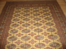 Gorgeous Persian carpet Bokhara - Second part of the last century