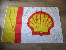 Shell vlag - jaren 70/80 - New old stock