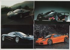 McLaren - 5 brochures and 3 magazines - (1994 - 2013)