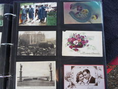 France- album with 300 postcards 1905/1960