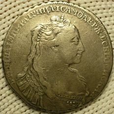 Russia, 1734 - silver rouble