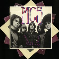 MC5 - MC5 - MC5 !! Lot of four albums by these Michigan innovaters of the punk movement