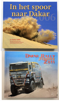 2 yearbooks Le Dakar. 2006 & 2011.
