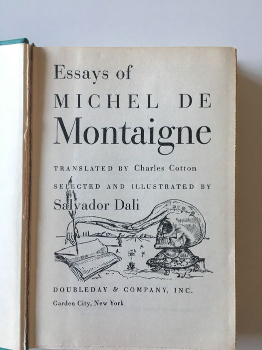 essays by montaigne summary Of friendship michel eyquem de montaigne 1909-14 literary and philosophical essays the harvard classics.