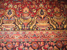 Persian rug Kashmar/ Mashad/Iran 20th century, circa 1970, new, not walked on, approx. 395x300 cm