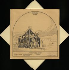 "The Grateful Dead ""Out West"" mega rare unofficial album - Recorded At The Hollywood Palladium and PRESSED ON RED AND ORANGE VINYL"