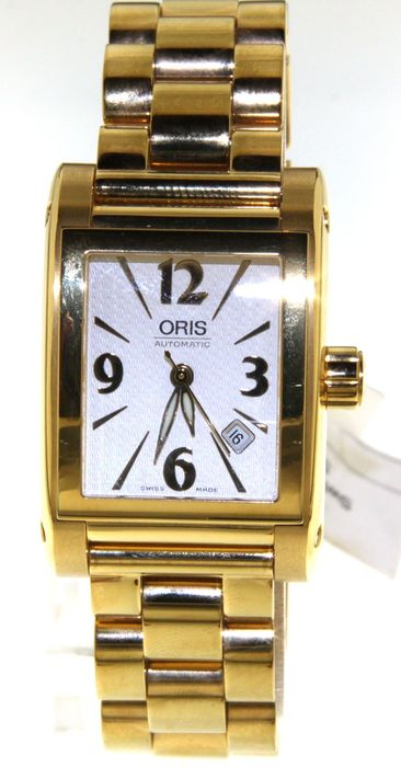 Oris-Miles rectangular-561 1526 45 61– wristwatch –
