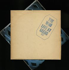 """The Who Live At Leeds"" On Track Records LP rare Blue Print sleeve + ""Tommy"" as UK first press as well"