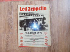 Led Zeppelin Concert Shield   U.S Tour 1977