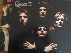 Nice Lot with The First 6 Great Queen Albums