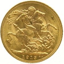 England – Sovereign, 1915, Eduard VII. – Gold