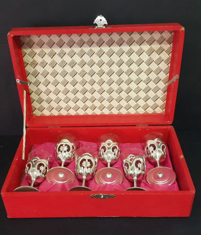 Set of Liqueur Glasses from 1970