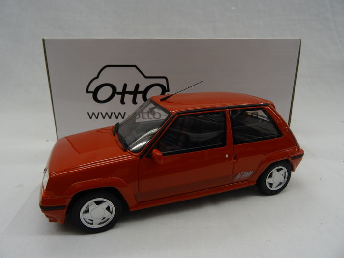 otto mobile scale 1 18 renault 5 gt turbo 705 phase 2 1987 colour red catawiki. Black Bedroom Furniture Sets. Home Design Ideas