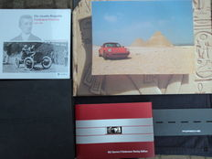 5 parts Porsche advertising/accessories etc.