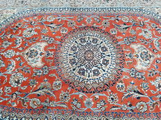 ! BREATHTAKING and WONDERFUL! PERSIAN NAIN - WOOL WITH SILK Very good condition!