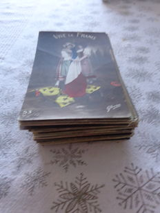 Historic Postcards, WW 14-18 mostly French /100 pieces