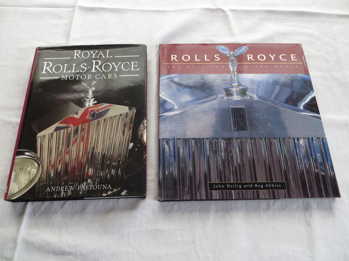 3  Rolls-Royce and Bentley standard works by  Nutland, Bacon, and Pastouna