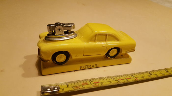 Ferrari 250 gt/e porcelain lighter 1960