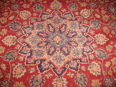 Persian carpet, Semnan/Iran, 20th century, around 1970, mint condition, approx.: 380 x 300 cm