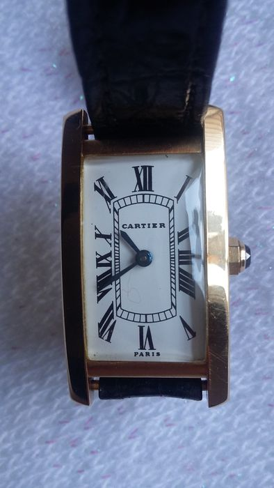 Cartier Tank Cintree – Women's wristwatch – Circa 1960.
