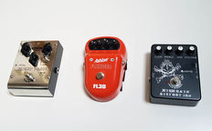 3 x Gitaar effect  - Delay / Flanger / Distortion