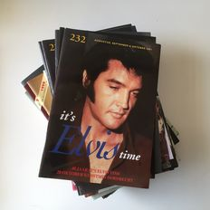 Elvis Presley, It's Elvis Time issues 205 to 232 (A5 size) from 1994/2001
