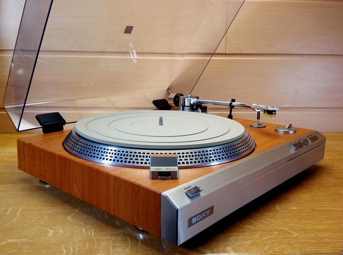 Sony - PS 313 Limited Edition Wood - Turntable