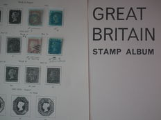 Great Britain and Commonwealth - collection on album pages