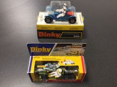 Dinky Toys - Scale 1/24 - Lot with Galactic War Chariot No.361 and Lunar Roving Vehicle No.355