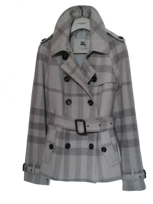 detailed look bc6a0 1a6c3 Burberry – Trenchcoat / Damenmantel – Wolle - Catawiki