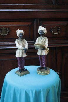 Blackamoor figurines