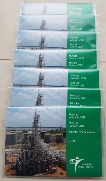 "Suriname – Year pack 2010 ""Industry of Suriname"" (7 pieces)"