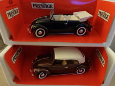 Solido Prestige - Scale 1/18 - VW Beetle convertible and Volkswagen Beetle convertible closed version