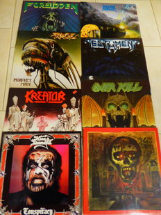 Heavy Metal - Lot of 8 LP Albums