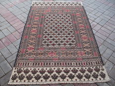 2827 # STUNNING SUPER QUALITY HAND MADE NEEDLE WORK SUMAK WOOL KILIM 122 x 188 CM