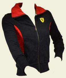 Ferrari black with red sweater size XS official merchandise, in absolute mint condition