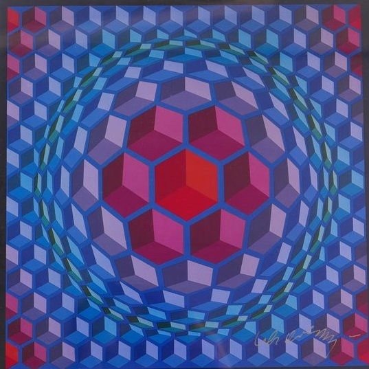 Victor Vasarely - Cheyt - MC - 4