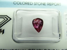 ruby  – 1,04 ct