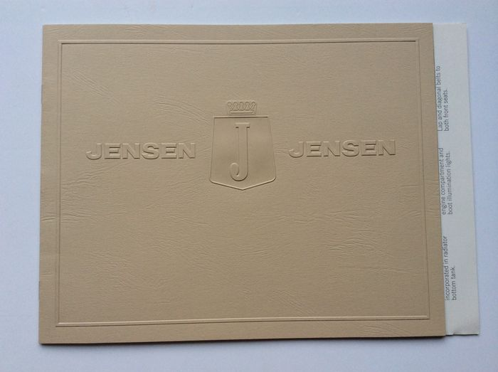 7x Brochures Special Sports Cars Jensen Panther Puma