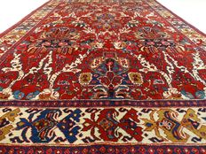 Heriz - 322 x 222 cm - Large Persian carpet with tree of life - Eye catcher in beautiful, virtually unused condition