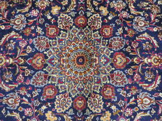Dreamily beautiful Persian carpet, Kashmar/Iran, 387 x 290 cm, end of the 20th century. Top condition - top quality