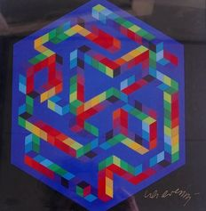 Victor Vasarely - Babel - 3