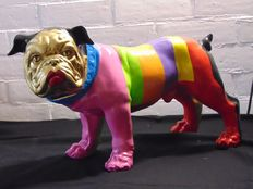 Ludo Modelo - Bulldog Colorfulstripes