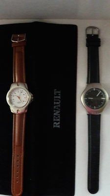 Set of 2 promotional watches - BMW - Renault Megane