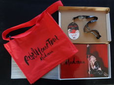 Madonna VIP Rebel Heart 30 YR Tour Book RARE Promo Limited Edition in nylon bag. NUMBERED!