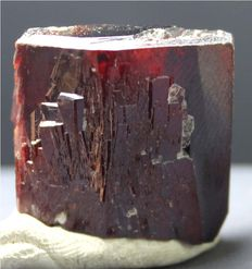 Rare Damage Free Red Tantalite Crystal - 20 x 20 x 11 mm - 25 gram
