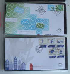 The Netherlands 2014 – Complete year pack FDC's