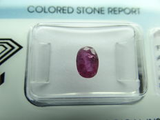 ruby  – 1,03 ct