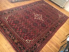 Magnificent Hosseinhabad rug from Iran, woven by hand - 277/169cm - PERFECT CONDITION - BIDDING STARTS AT €1!!!